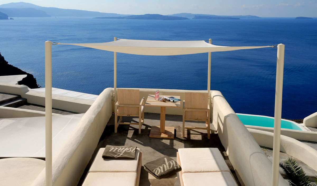 Mystique Resort A Luxury Collection Hotel In Santorini