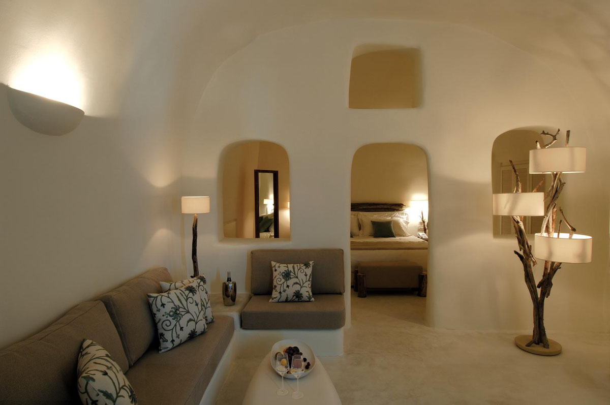 Mystique Resort  A Luxury Collection Hotel In Santorini  iDesignArch  Interior Design