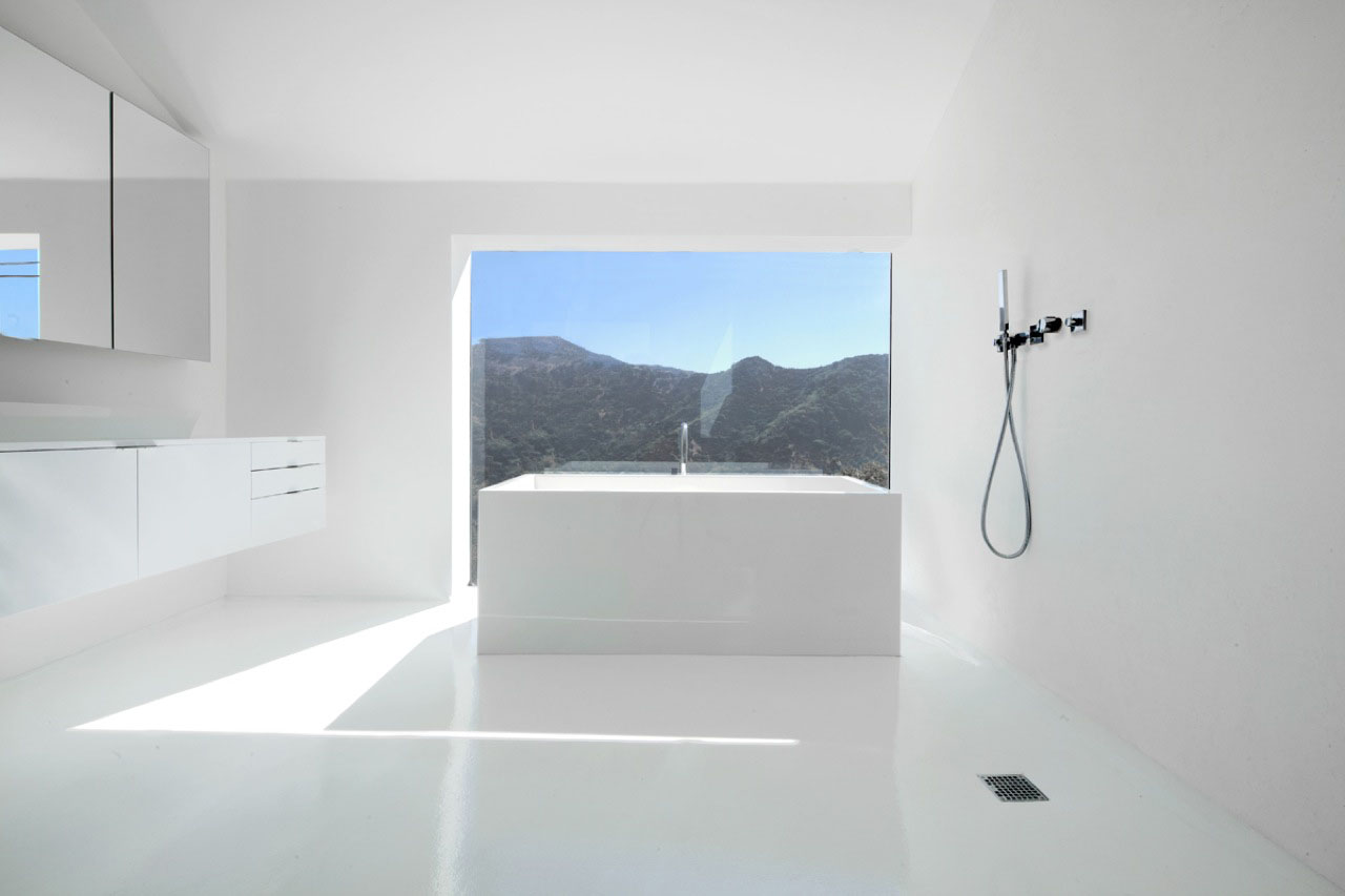 Abstract Minimalist House In Hollywood Hills  iDesignArch  Interior Design Architecture