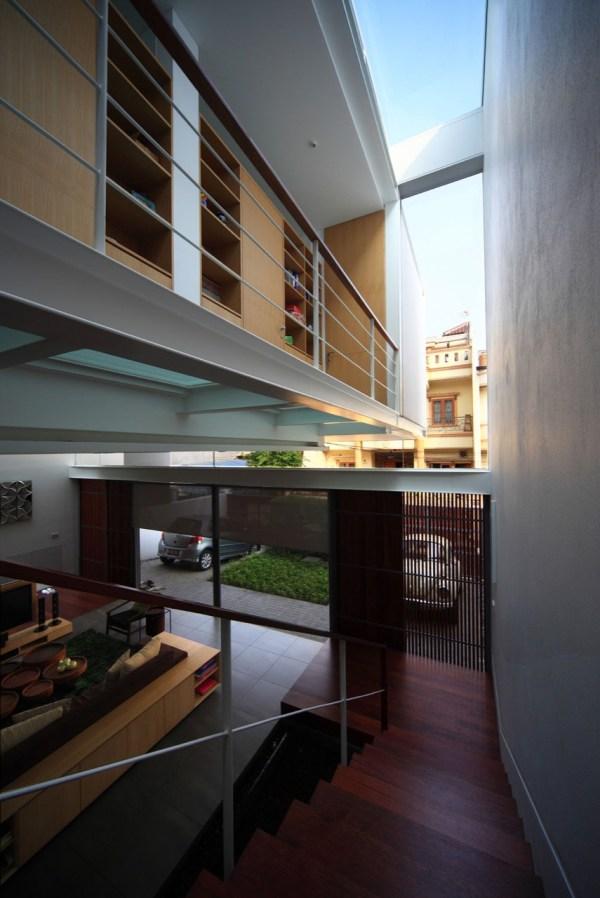 Narrow House Maximizes Space Three Floors Idesignarch