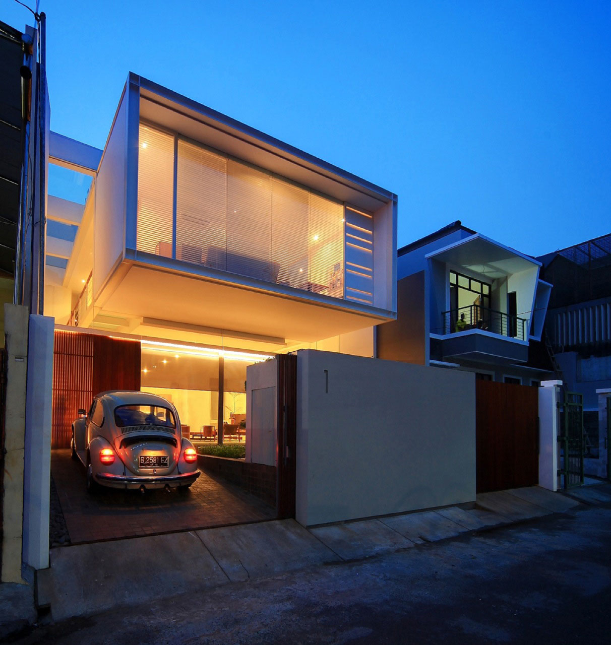 Narrow House Maximizes Space On Three Floors  iDesignArch  Interior Design Architecture