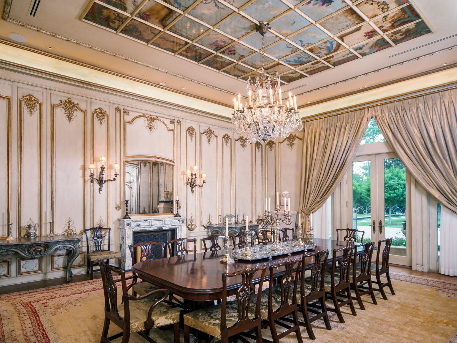 Neoclassical Chateau Style Estate In Texas  iDesignArch  Interior Design Architecture