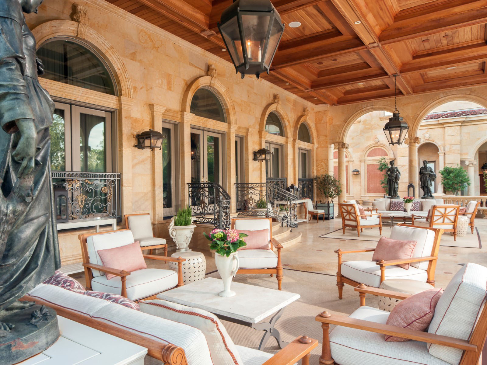 Neoclassical Chateau Style Estate In Texas  iDesignArch