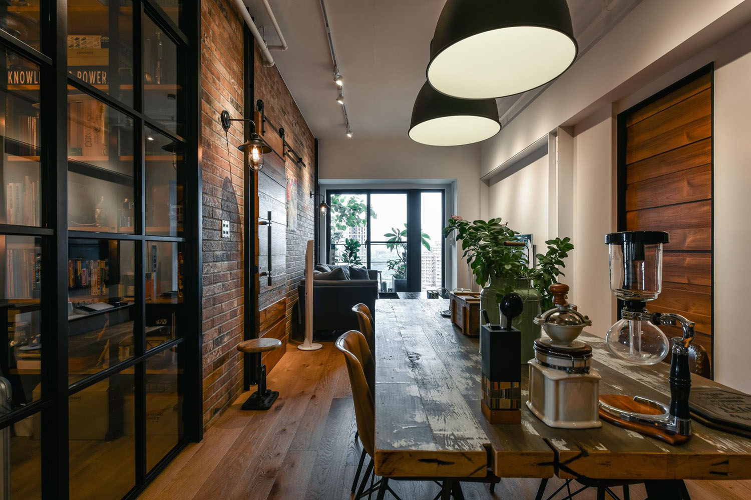 comfortable chairs for bedroom telescope beach chair charming industrial loft in new taipei city | idesignarch interior design, architecture ...
