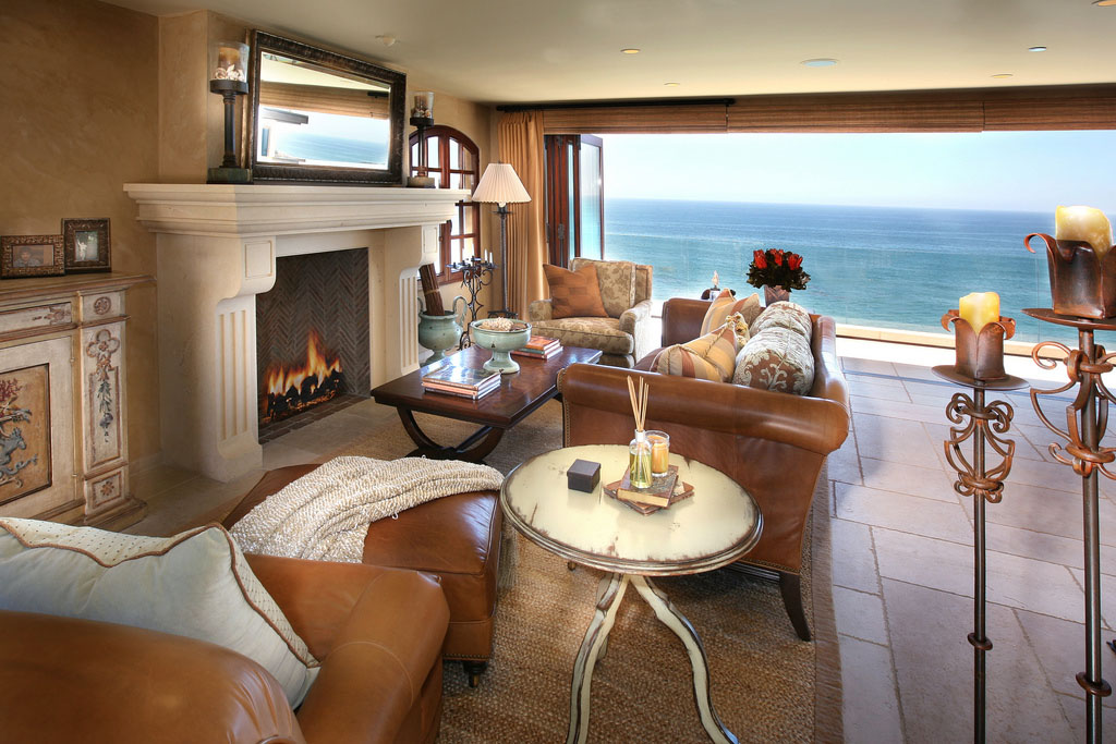 Mediterranean Style Ocean Front Home In Laguna Beach  iDesignArch  Interior Design