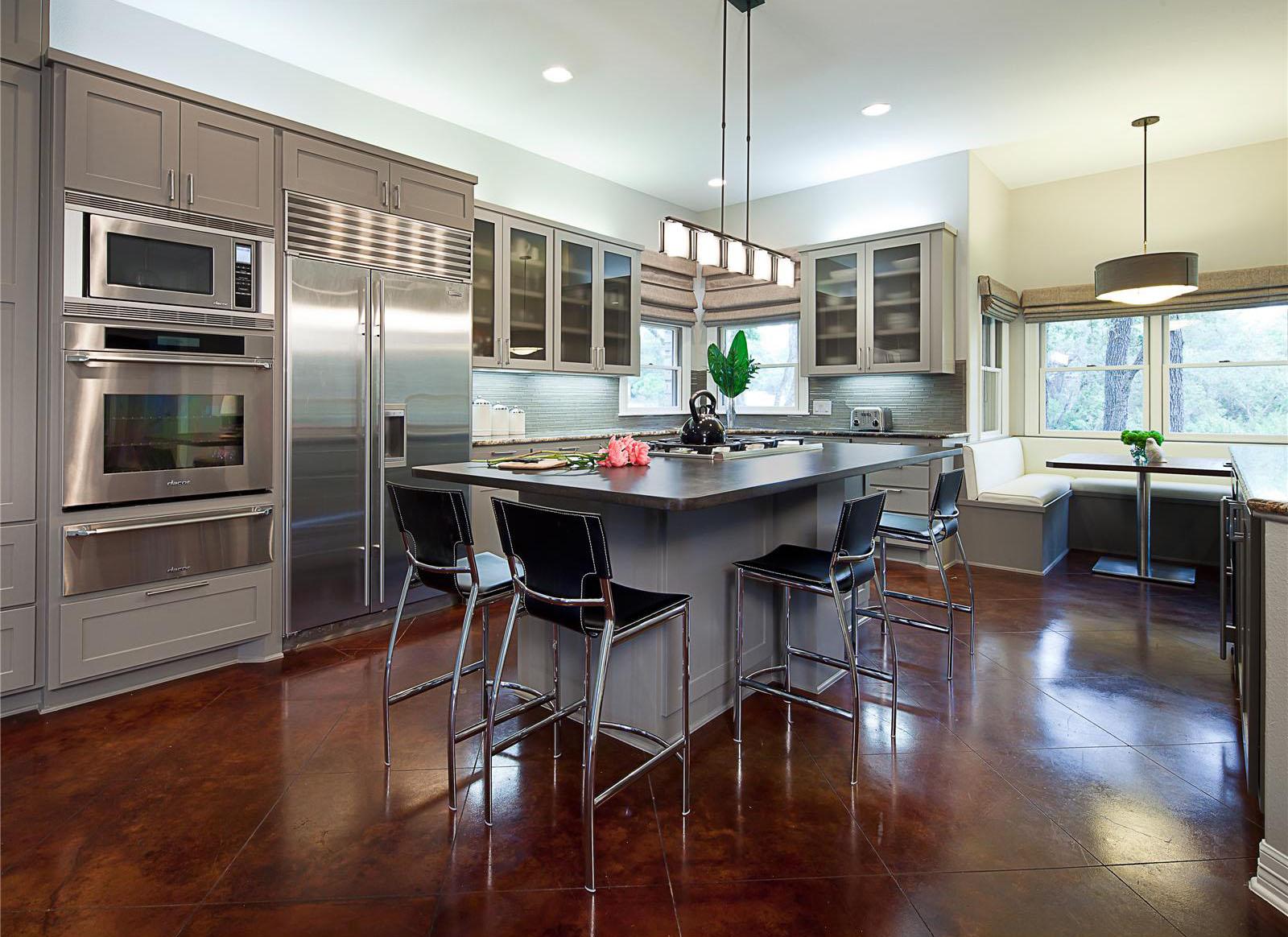 Open Contemporary Kitchen Design Ideas  iDesignArch  Interior Design Architecture  Interior