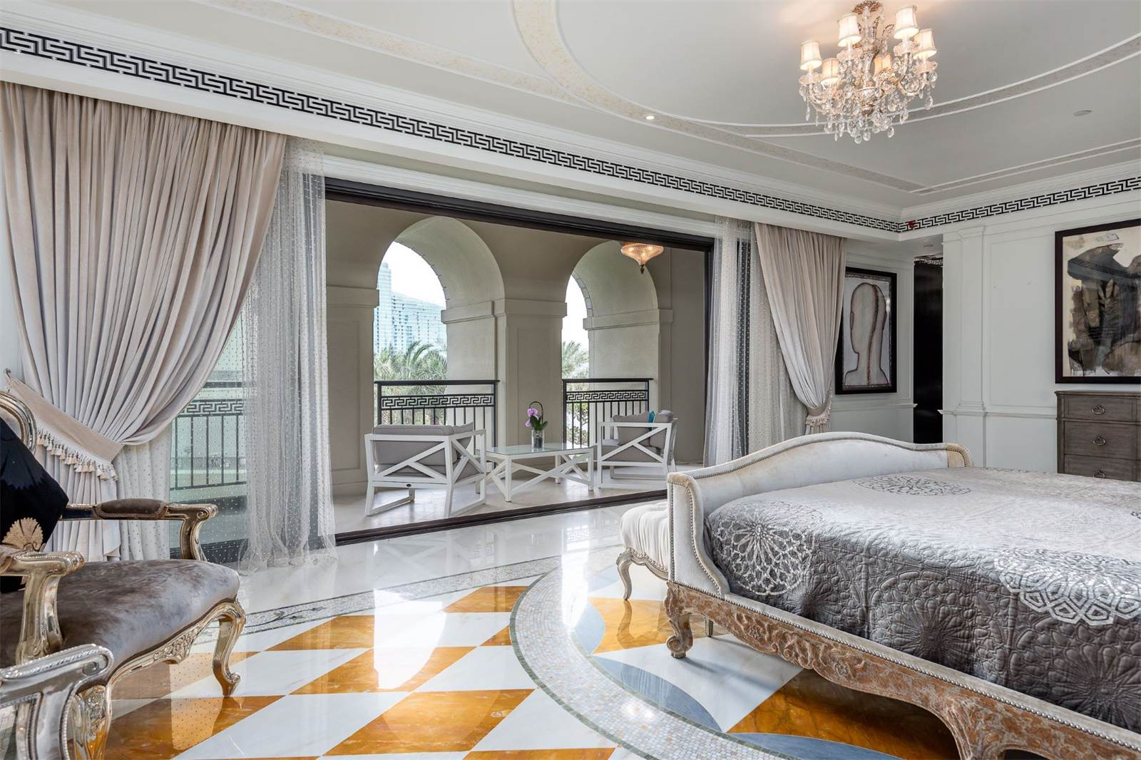 Palazzo Versace Opulent Waterfront Penthouse In Dubai  iDesignArch  Interior Design