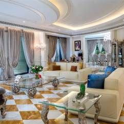 Bedroom Chairs Furniture Village Sofa Bed Palazzo Versace Opulent Waterfront Penthouse In Dubai | Idesignarch Interior Design ...