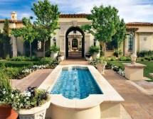 Spanish Mediterranean Style Homes