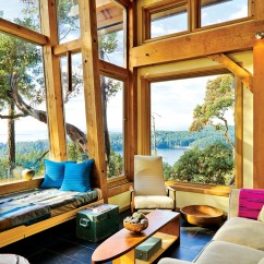 Prefab Commercial Kitchen Small Design Photos A Magical Cottage On Pender Island | Idesignarch ...