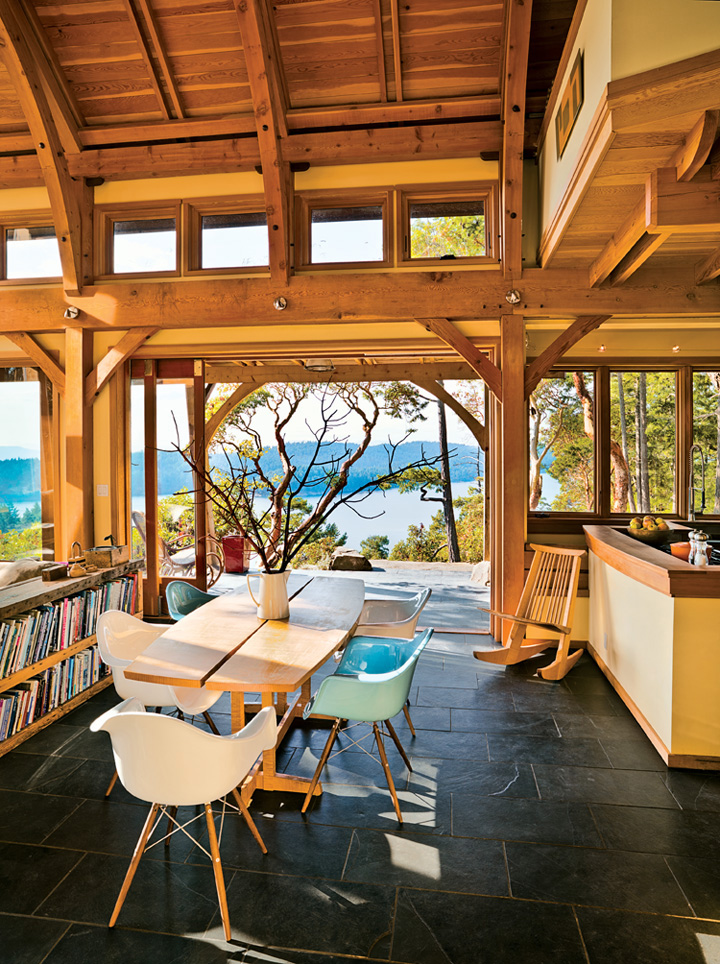 A Magical Cottage On Pender Island  iDesignArch  Interior Design Architecture  Interior