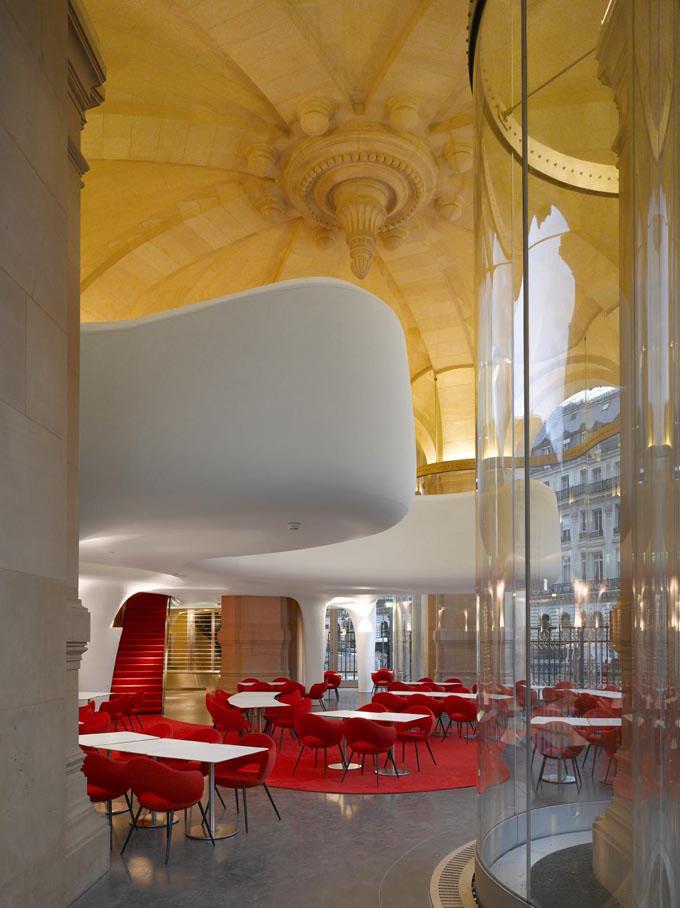 Phantom LOpra Restaurant Paris  iDesignArch  Interior