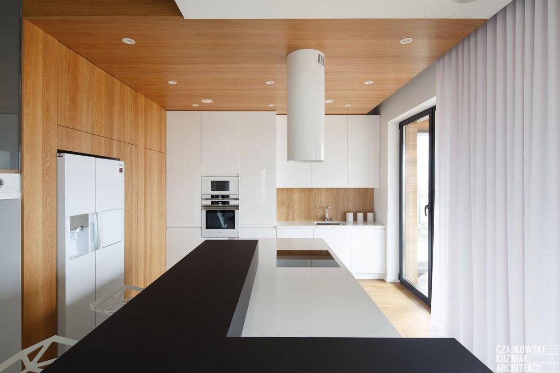 Poland-Modern-Home-Interior-Black-White-Light-Wood-Color ...