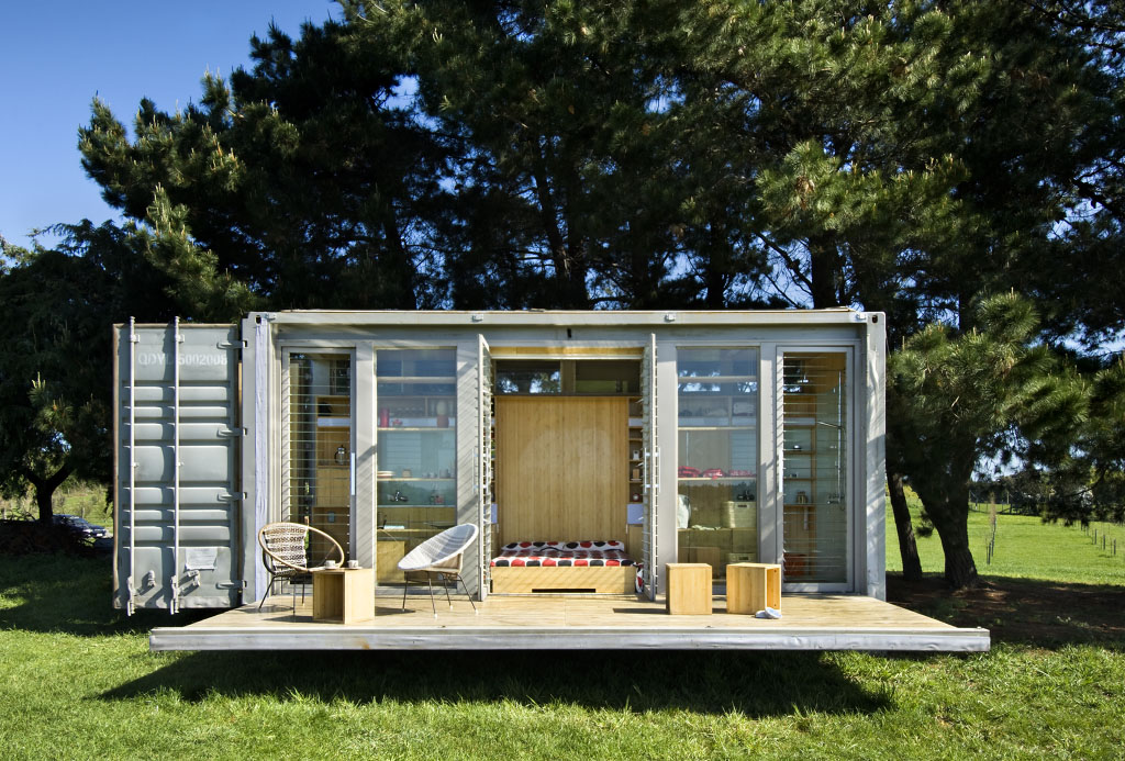 PortABach Shipping Container Home  iDesignArch