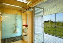 Shipping Container Home Bathroom