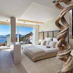 Luxury Kitchen Cabinets Apartment Size Table Ocean View Modern Villa In Mallorca   Idesignarch ...