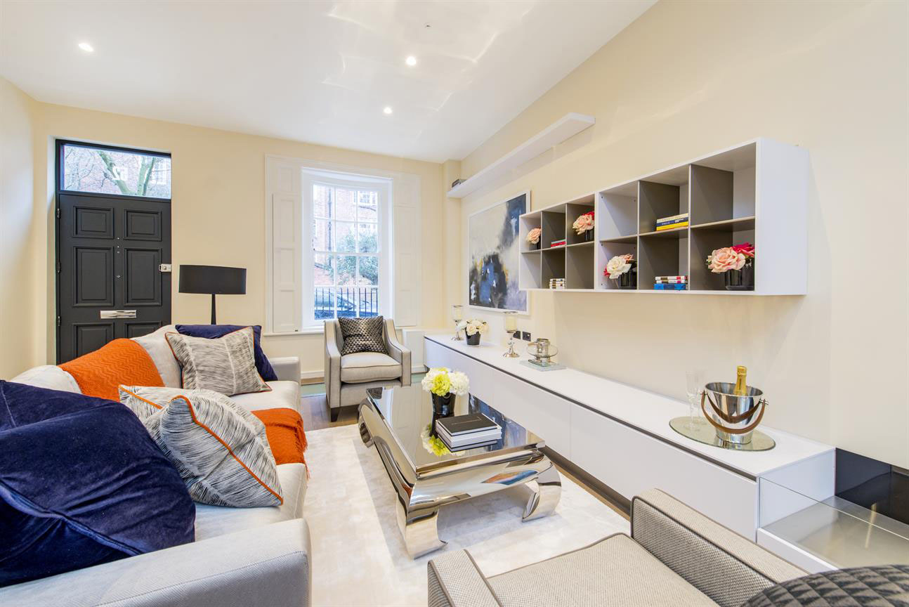 modern country decor living rooms tv chairs room exquisite house on portobello road in the heart of notting ...
