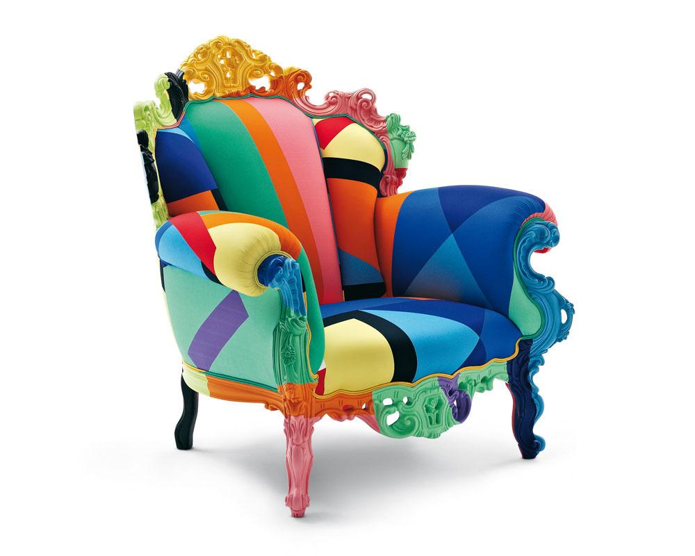 MultiColoured Armchair By Cappellini  iDesignArch