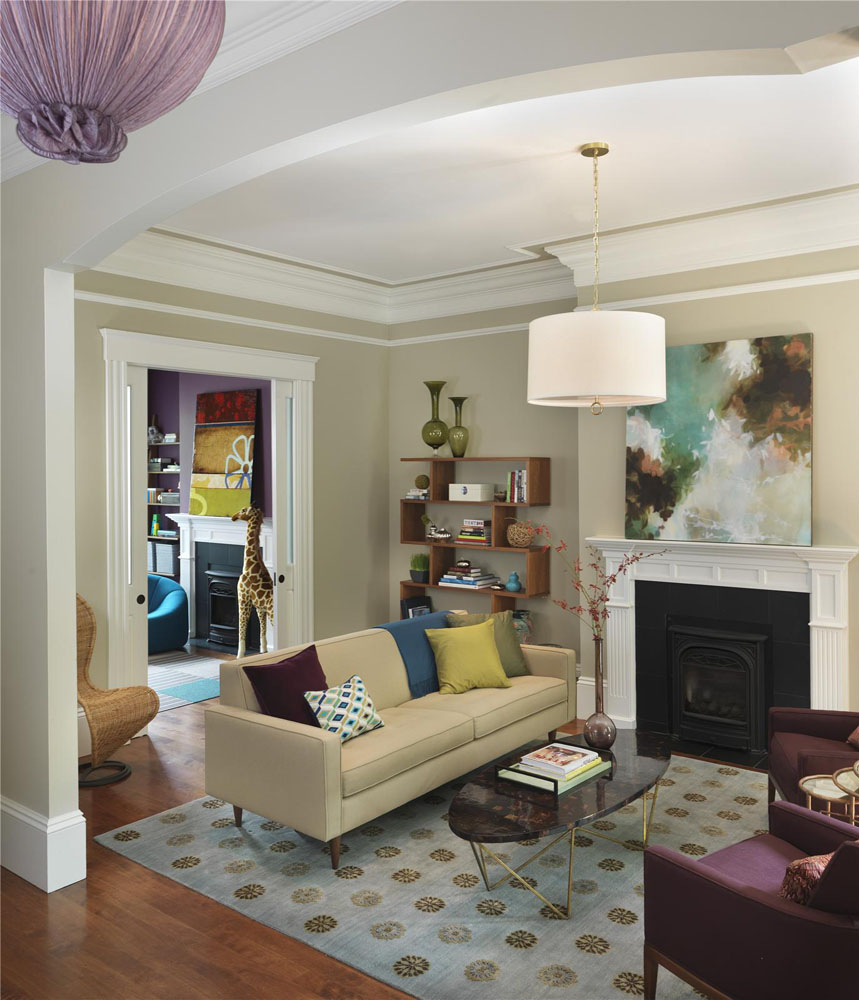 tropical decorating ideas for living rooms room plants decor contemporary home in historic boston | idesignarch ...