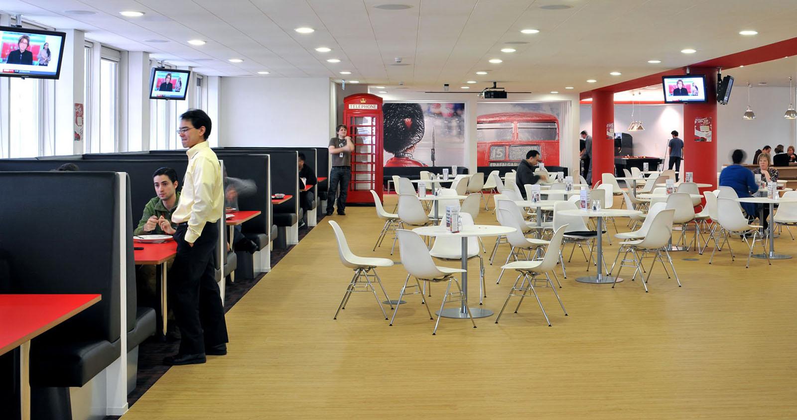 Inspiring British Office Interior Design At Rackspace  iDesignArch  Interior Design