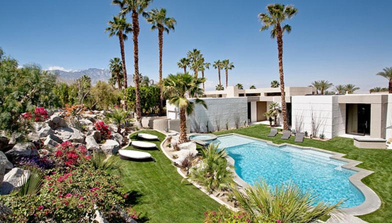 prefab outdoor kitchens discount kitchen lighting dream desert home in rancho mirage | idesignarch ...