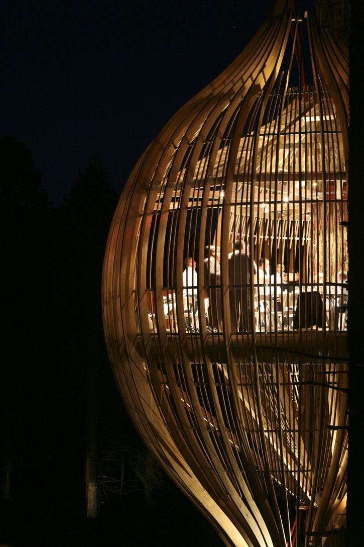 Redwoods Yellow Treehouse Idesignarch Interior Design