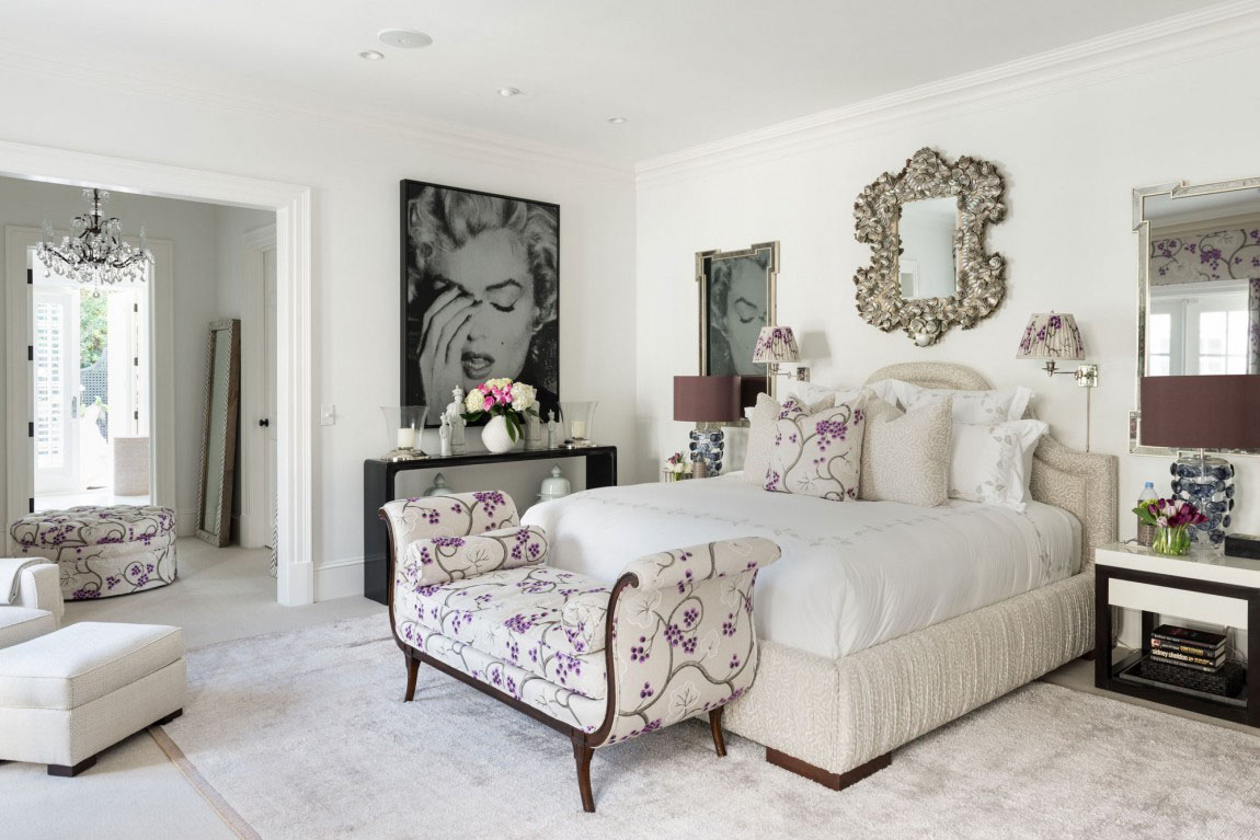 Regency Style Palm Beach Villa14