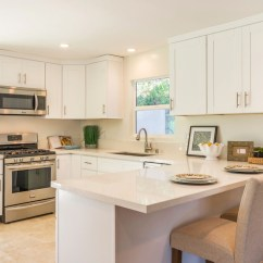 Renovated Kitchen Cabinet Home Depot Newly Contemporary Small With Clean Look