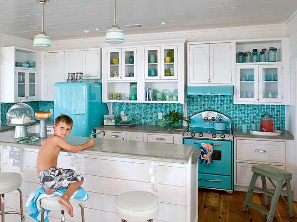 Retro Style Kitchen Designs IDesignArch Interior Design