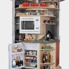 Compact Kitchens Small Kitchen Dishwashers Revolving Circle Idesignarch Interior Design Via