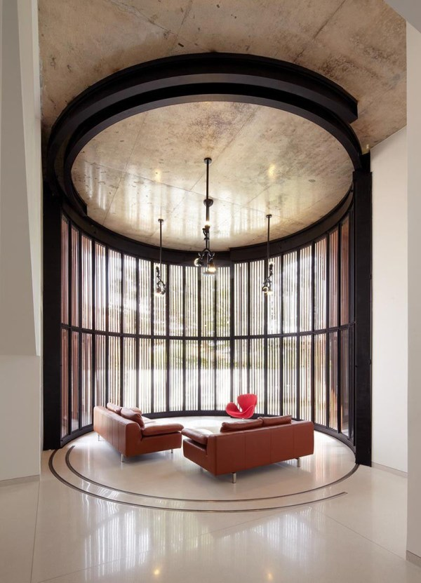 Flexible Revolving Doors Transform Room Indoor