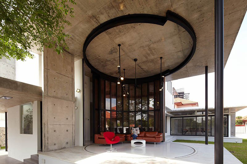 Flexible Revolving Doors Transform Room From Indoor To