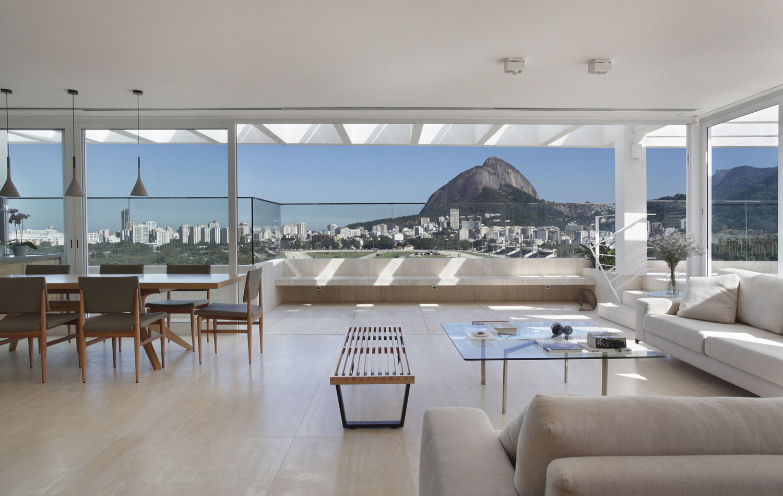 Elegant Modern Penthouse With Large Terrace In Rio de Janeiro  iDesignArch  Interior Design