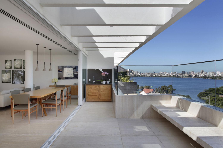 Elegant Modern Penthouse With Large Terrace In Rio De