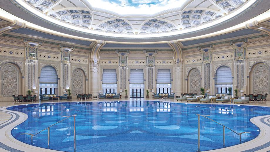 Stately Arabian Architecture At The RitzCarlton Riyadh  iDesignArch  Interior Design