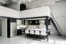 Modern Loft Interior Design Kitchen
