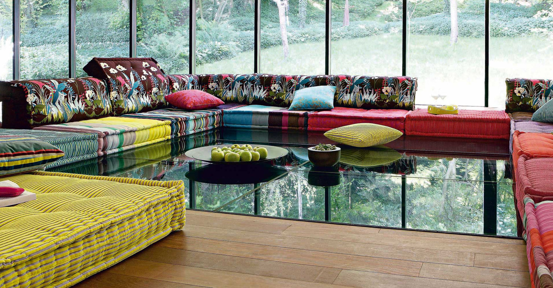 mahjong sofa roche bobois what style is chesterfield stylish and functional mah jong modular sofas