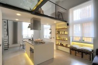 Refurbished Industrial Loft Apartment In Rome ...