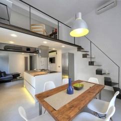 Sofas With Storage Under Lazy Boy Wayfair Refurbished Industrial Loft Apartment In Rome ...