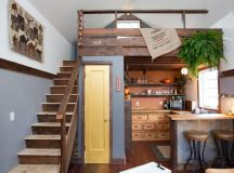 Cozy Rustic Tiny House With Vintage Decor   iDesignArch ...