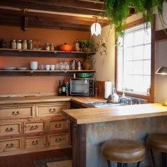 Tiny House Kitchens Redo Kitchen Cabinets Cozy Rustic With Vintage Decor Idesignarch Interior Home
