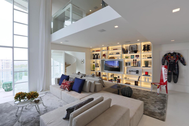 So Paulo Modern Duplex Apartment1