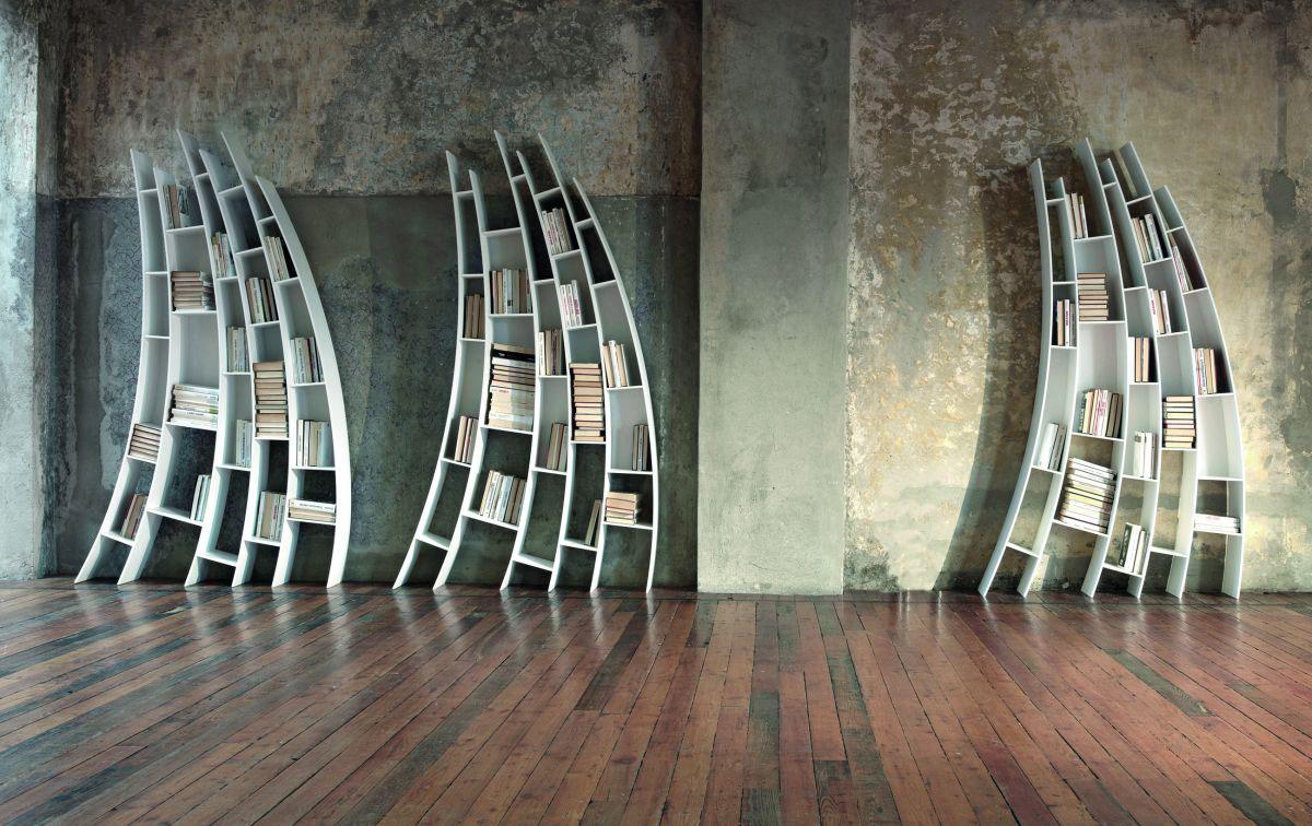 Surreal Bookshelves by Saba Italia  iDesignArch