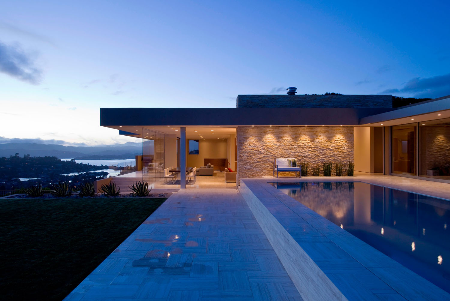 Stunning Contemporary Home With View Of San Francisco Bay And Golden Gate Bridge  iDesignArch