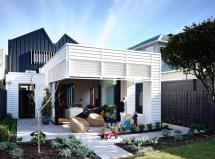 Modern Suburban House with Interior