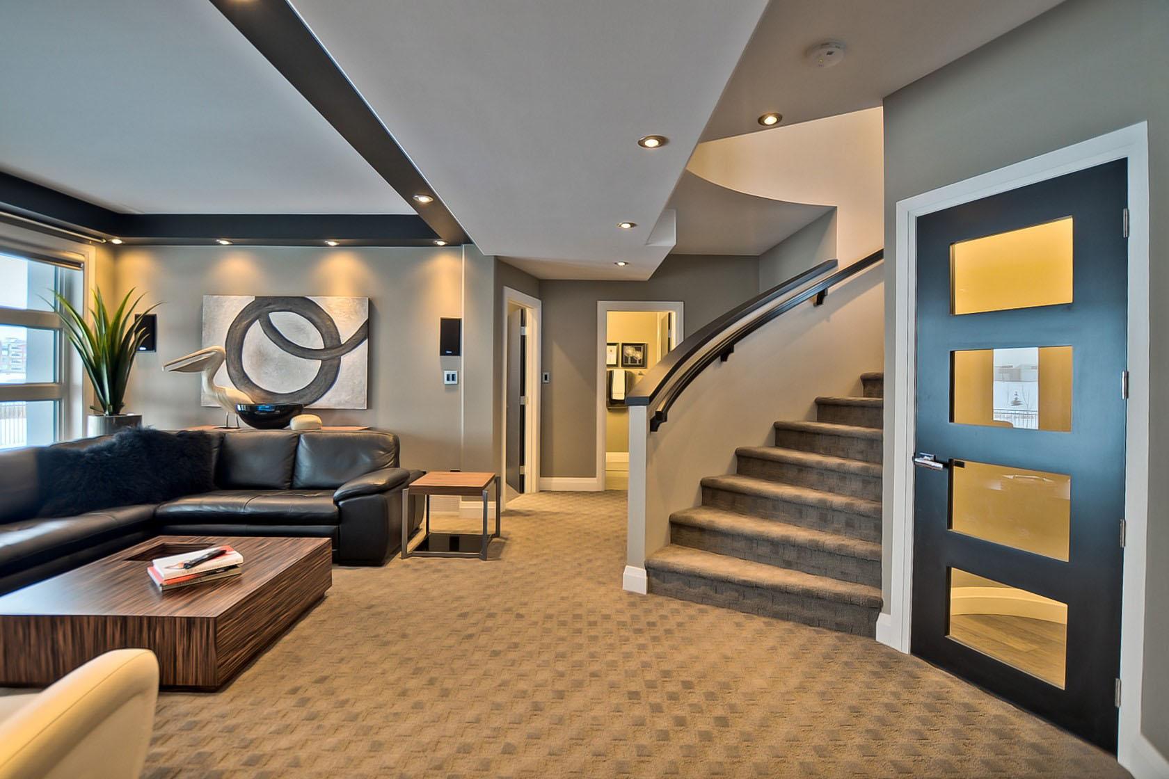 classic living room decor style contemporary custom dream home in saskatoon with inspiring ...