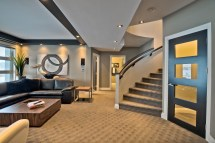 Contemporary Homes with Walk Out Basements