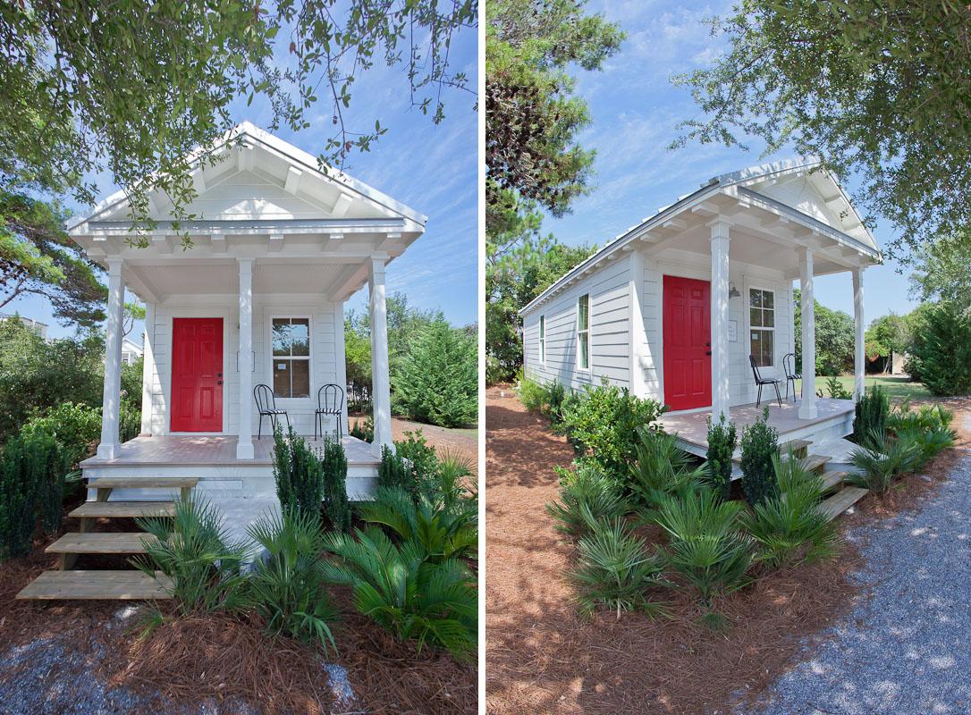 Tiny Seaside Village Cottage IDesignArch Interior