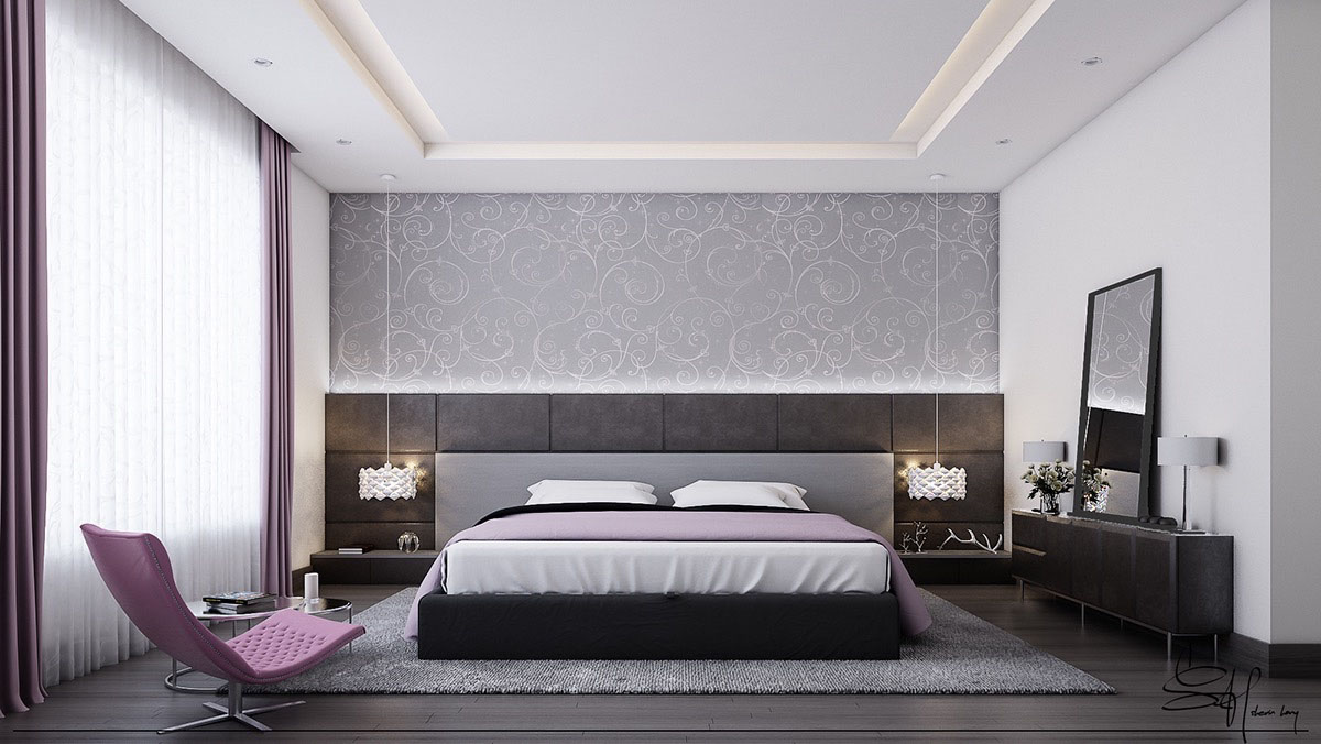 Five Shades Of Grey Bedroom Design Ideas Idesignarch Interior Design Architecture Interior Decorating Emagazine