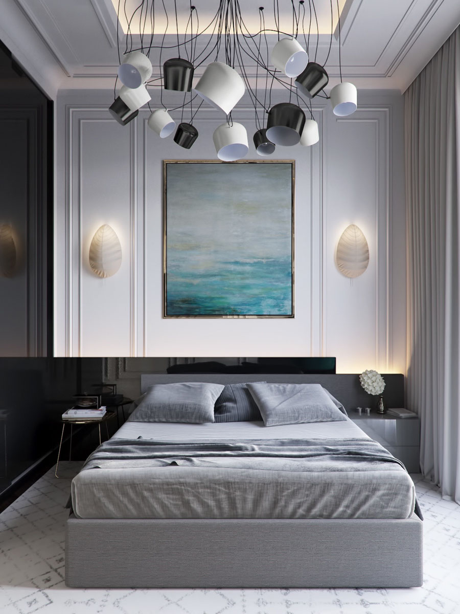 25 attractive purple bedroom design ideas to copy. Five Shades of Grey Bedroom Design Ideas | iDesignArch